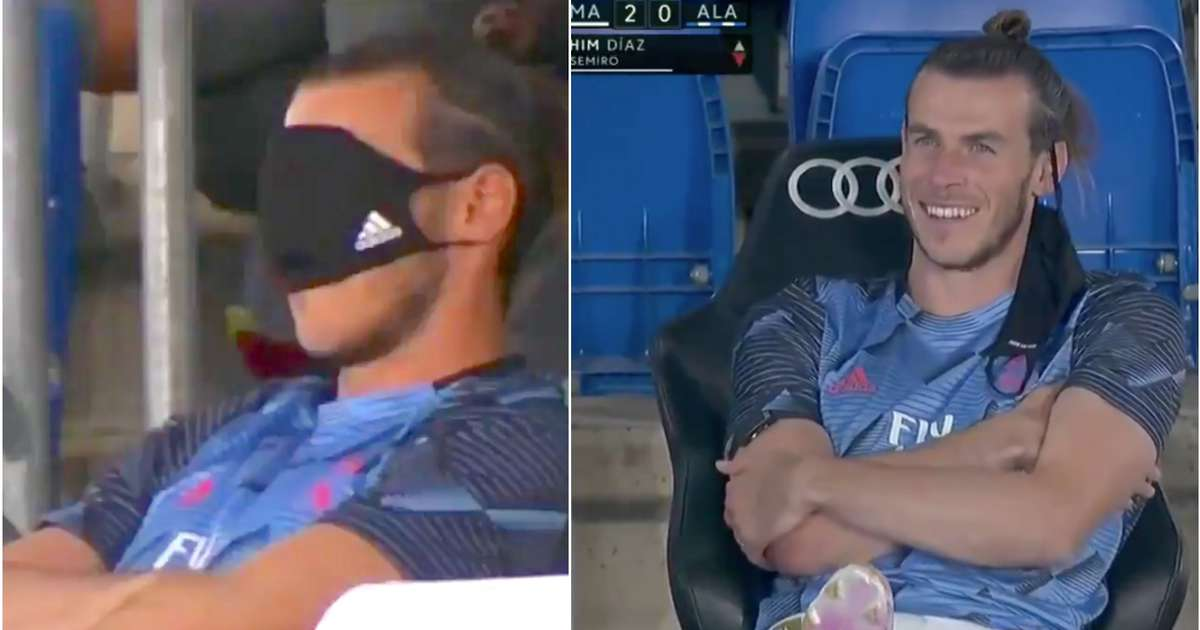 Footage from Real Madrid bench vs Alaves shows Gareth Bale's situation is beyond a joke