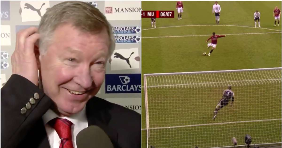 Sir Alex Ferguson's reaction after losing £400 bet to Cristiano Ronaldo at Man Utd