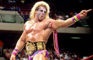 The Ultimate Warrior features on WWE's list of greats
