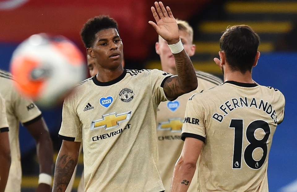 Man Utd S Marcus Rashford Deleted His Tweet Congratulating Leeds On Promotion Givemesport