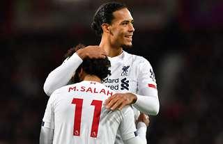 Salah and Van Dijk feature in the team