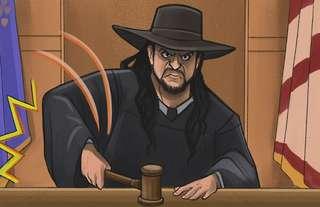 The Undertaker presided over Wrestlers' Court