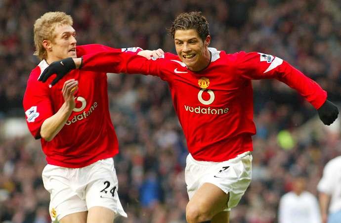 Ronaldo with Man Utd