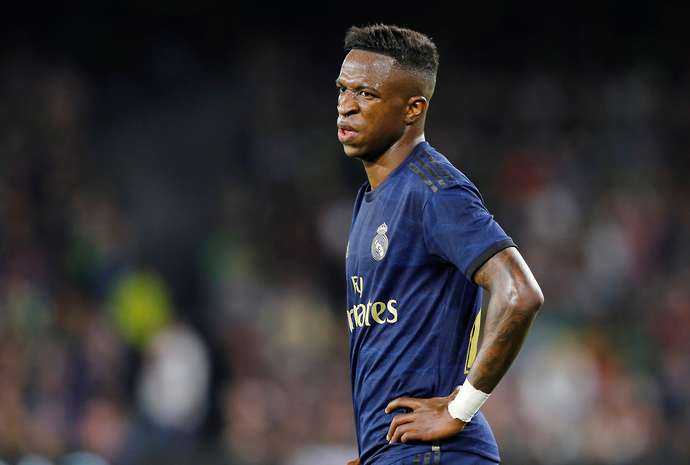 Vinicius with Real Madrid