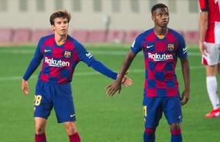 Barcelona's Riqui Puig & Ansu Fati enjoyed breakthrough seasons in 2019/20