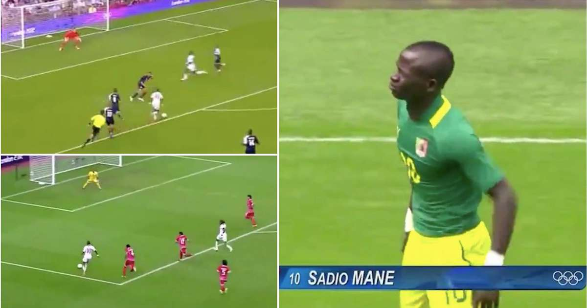 Footage emerges of a 20-year-old Sadio Mane tearing up the 2012 London Olympics