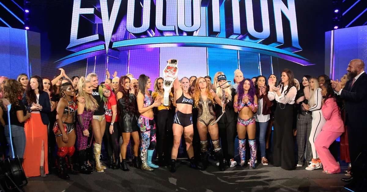 WWE are exploring the possibility of running Evolution 2 in 2020