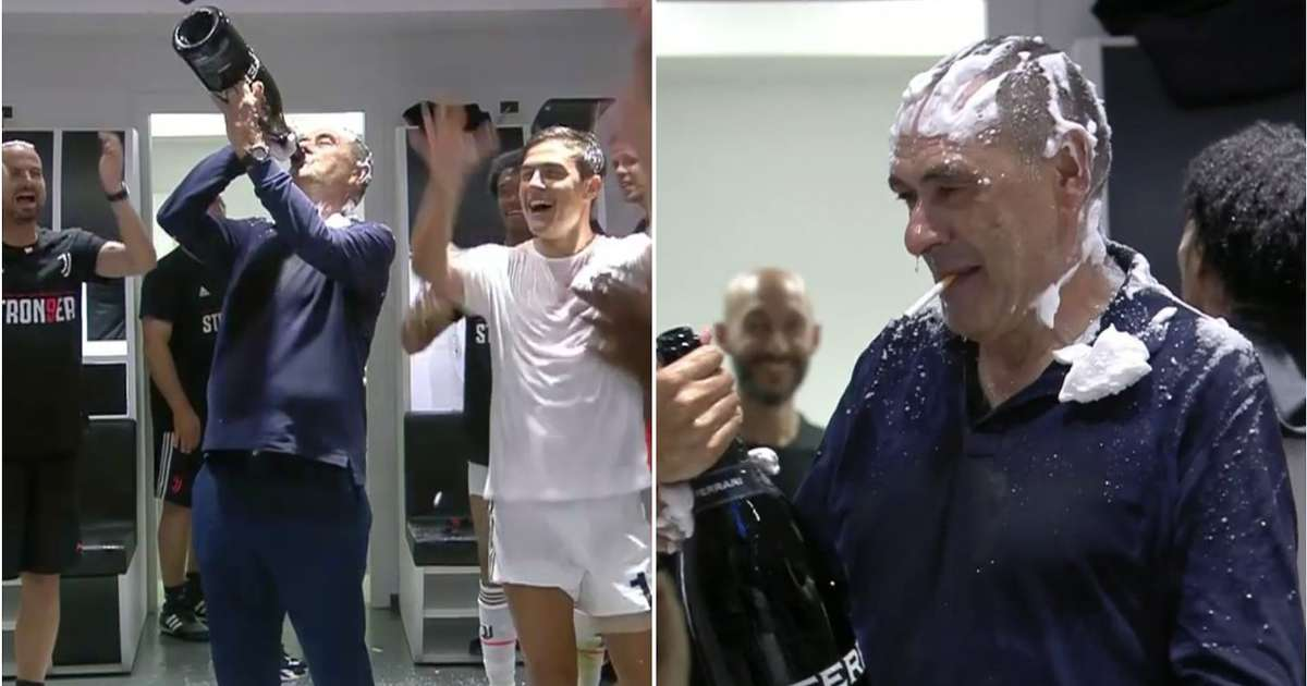 Maurizio Sarri told Juventus players 'you must be good' because they won Serie A with him