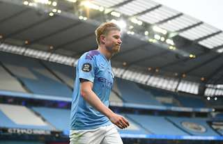 Kevin De Bruyne finished the 2019/20 season with 20 assists