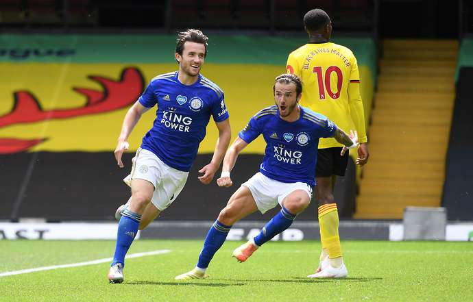 Chilwell in action