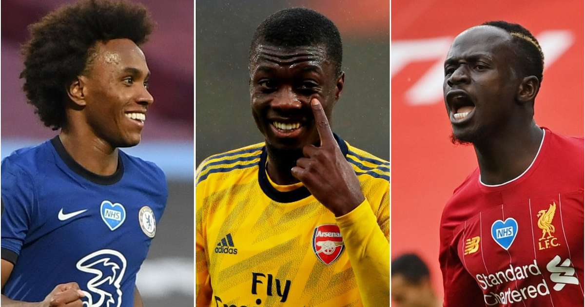 Every Premier League club's three highest-rated players from the 2019/20 season