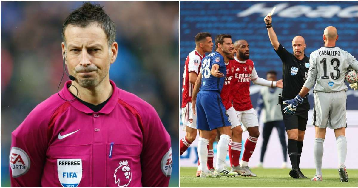 Mark Clattenburg says Anthony Taylor shouldn't have been in charge of the FA Cup final