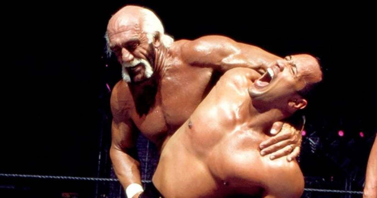 When The Rock & Hulk Hogan had the most electrifying match of all time at WrestleMania X8