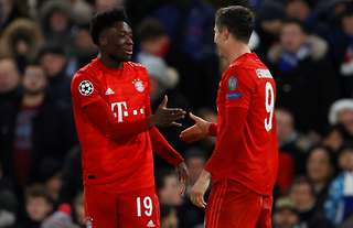 Davies and Lewandowski feature in the XI of the season