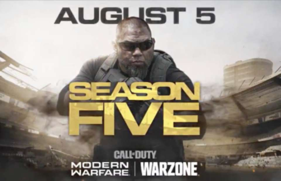 Call Of Duty Warzone Season 5 Will Drop Tomorrow But It Will Be