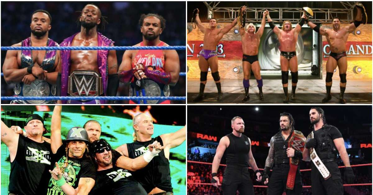 The 10 greatest WWE stables of all time ranked after new one forms on Monday Night Raw