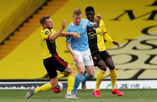 Ismaila Sarr versus Manchester City