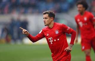 Philippe Coutinho struggled at Bayern Munich during 2019/20