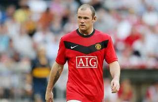 Wayne Rooney was electric at Man Utd during the 2009/10 season