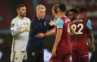David Moyes post-match West Ham