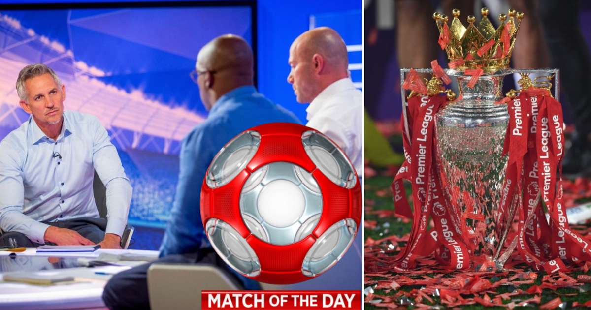 How often every team was shown first and last on Match of the Day during 2019/20