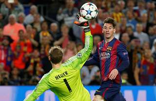 Lionel Messi's goal against Bayern Munich in 2015 is one of the greatest in Champions League history