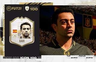 Xavi Hernandez is an ICON player on FIFA 21