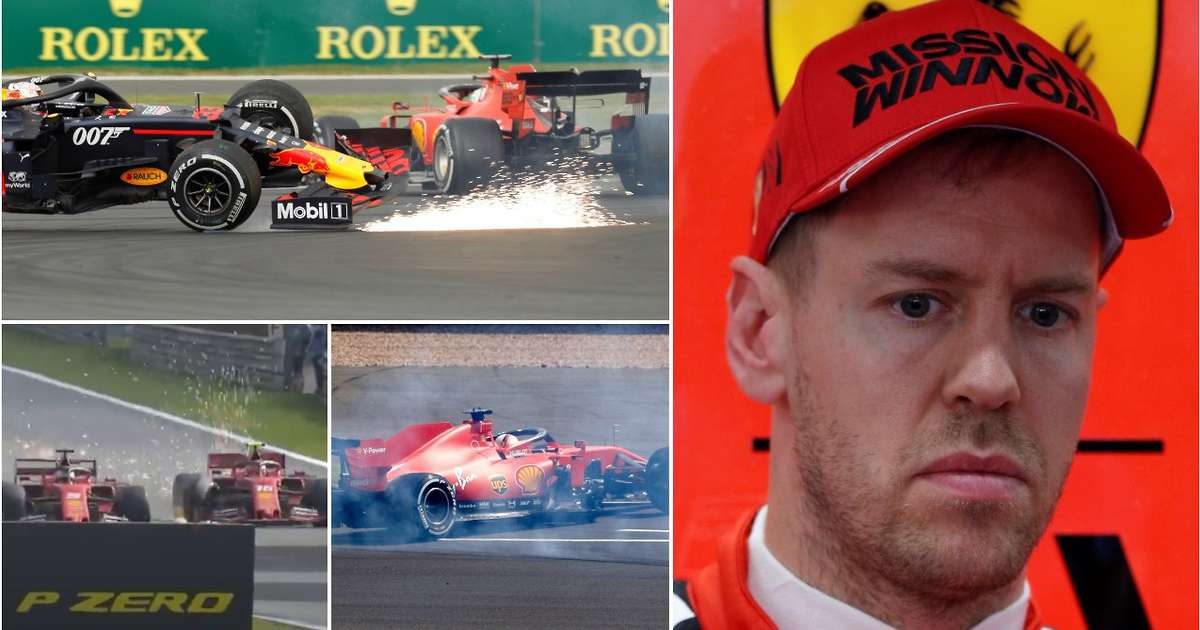 10 times Sebastian Vettel proved he's finished as a top F1 driver after today's error