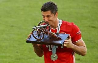 Robert Lewandowski - the best striker in the world!