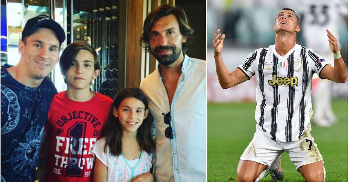 New Juventus boss Andrea Pirlo picked Messi in his dream XI - but not Cristiano Ronaldo