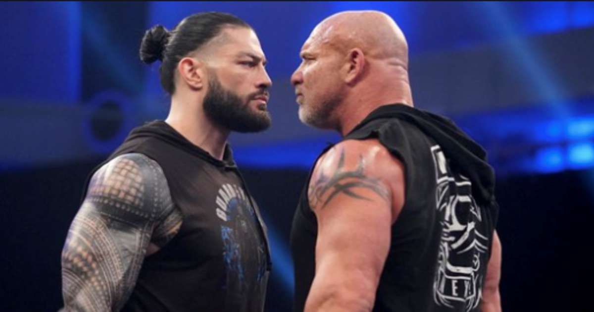 Goldberg has launched a verbal attack on Roman Reigns calling him a 'joke'