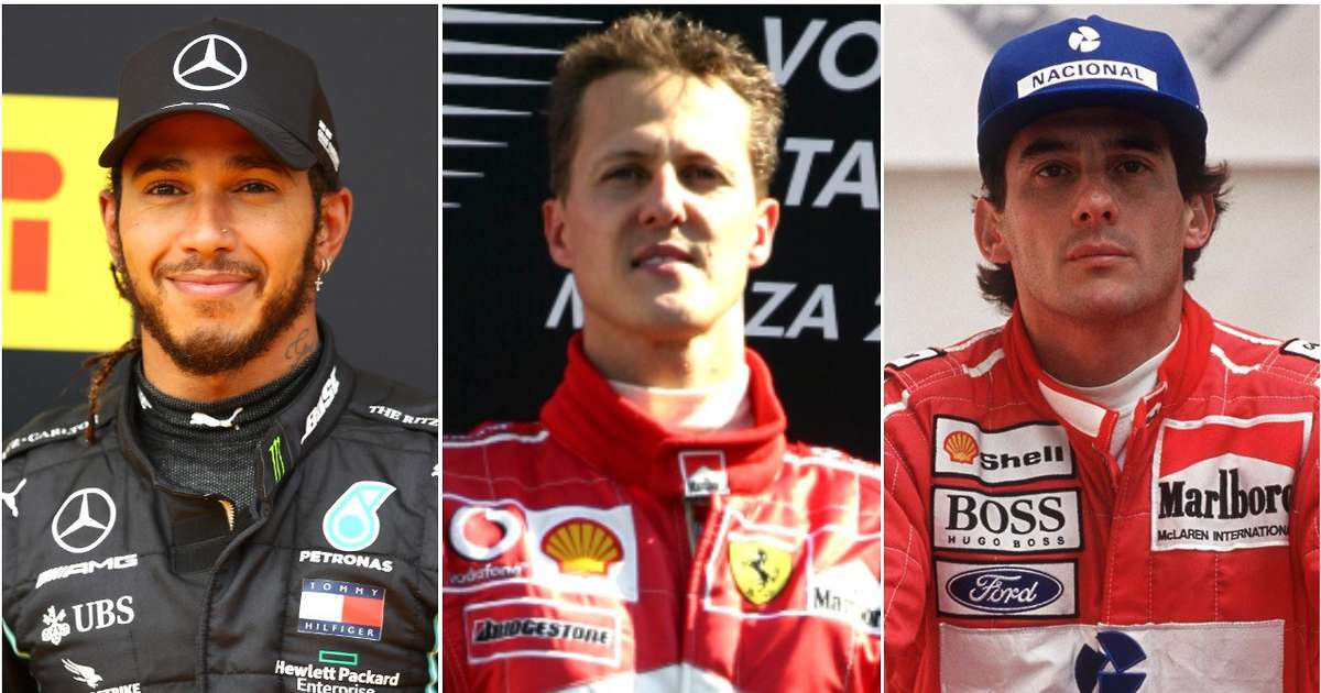 The 30 greatest Formula 1 drivers of all time have been ranked