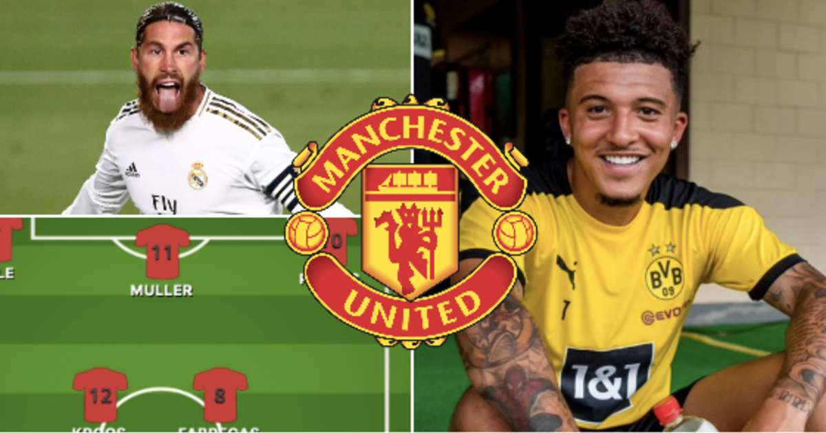 Jadon Sancho could join an incredible XI of players Man United have missed out on
