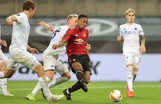 Anthony Martial was unplayable vs FC Copenhagen