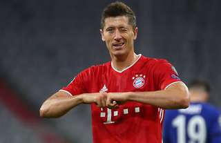 Robert Lewandowski has scored 54 goals in 2019/20 for Bayern Munich