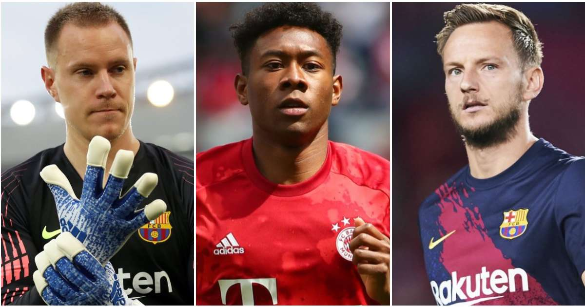 Football fan's controversial Barcelona & Bayern Munich combined XI has caused a real stir