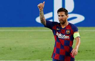 Barcelona's Lionel Messi is the highest-paid player in the world