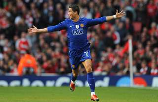 Ronaldo's best performance in a Man Utd shirt