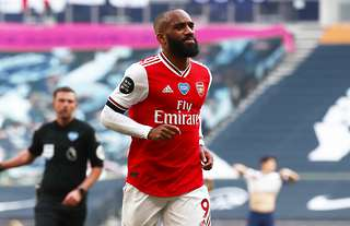 Could Alexandre Lacazette be on his way out of Arsenal this summer?