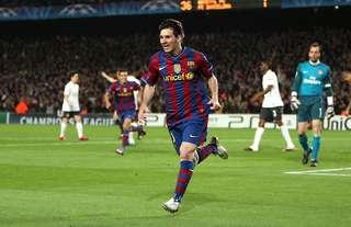 Messi dropped a perfect 10 vs Arsenal