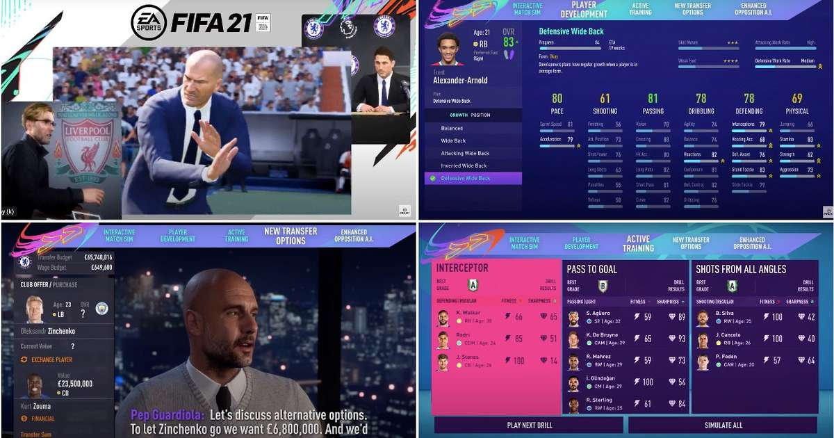 FIFA 21 Career Mode: EA Sports may finally have created something gamers will play and enjoy - GIVEMESPORT
