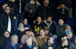 Antonee Robinson in the stands