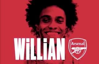 Willian is an Arsenal man