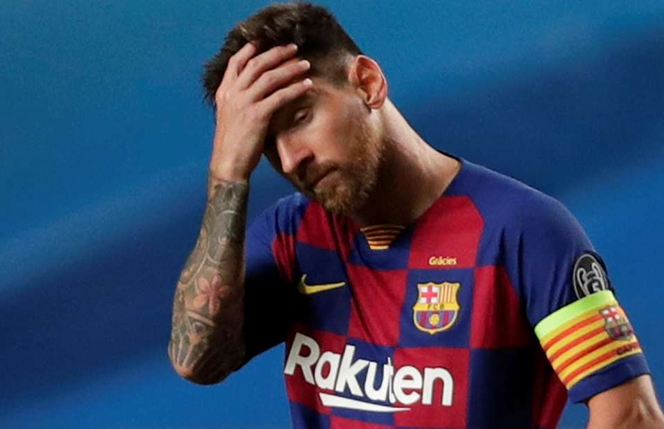 Lionel Messi S Barcelona Highlights During 8 2 Bayern Munich Loss Are Heartbreaking Givemesport
