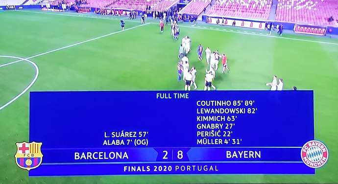 Barcelona S Most Humiliating Champions League Defeats Featuring Bayern And Liverpool Givemesport
