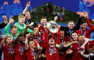 Liverpool Champions League win