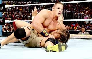 Cena and Bryan battled at SummerSlam 2013