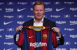 Koeman has told four players to leave Barca