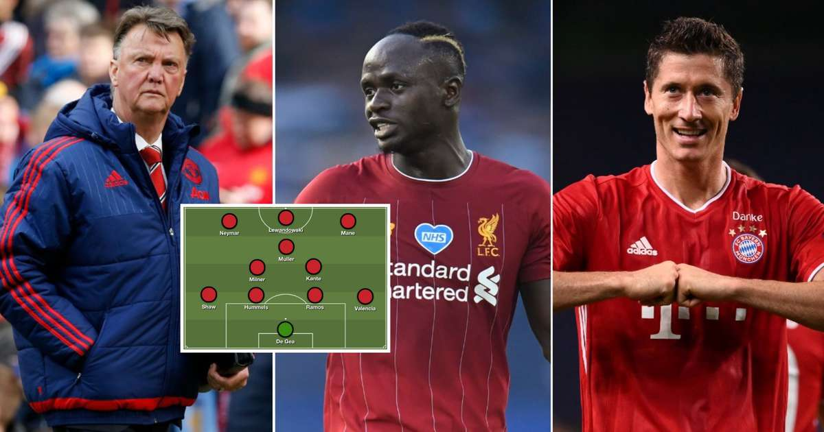 Man Utd: The Incredible XI They Could've Had If Louis Van