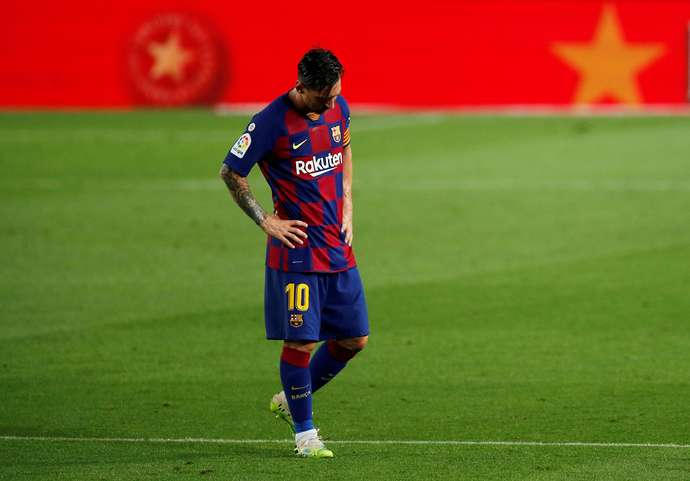 Messi wants to walk away from Barca